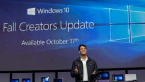 Microsoft to Release Windows 10 Fall Creators Update on October 17