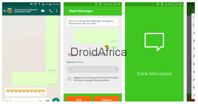 How to Send Blank Messages in WhatsApp