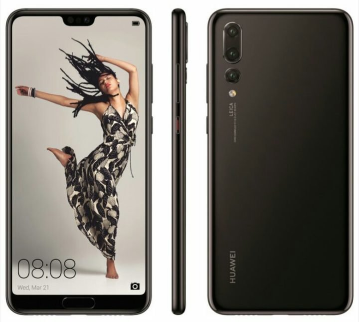 Huawei P20 Pro Renders Shows up