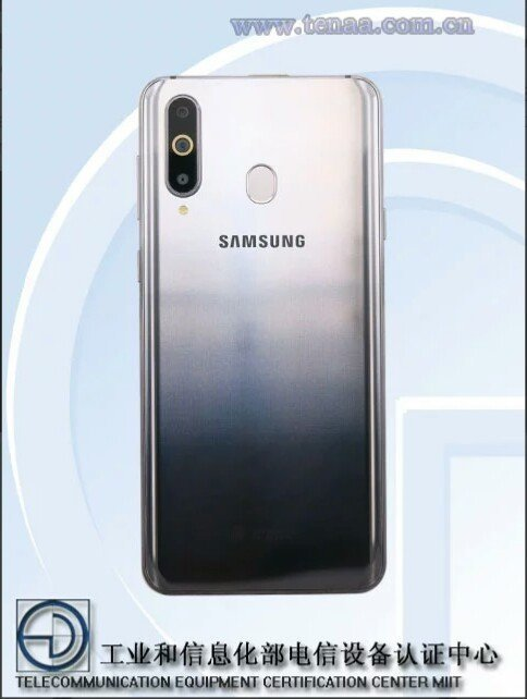 Samsung galaxy A8s features
