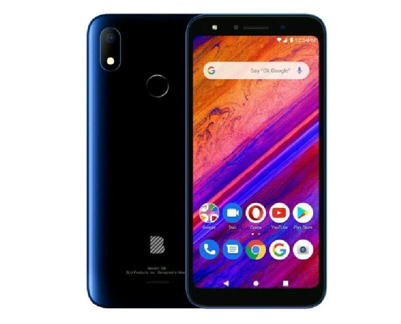 Blu G6 specifications features and price