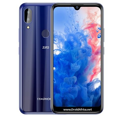 Symphony Z20 Specification features and price