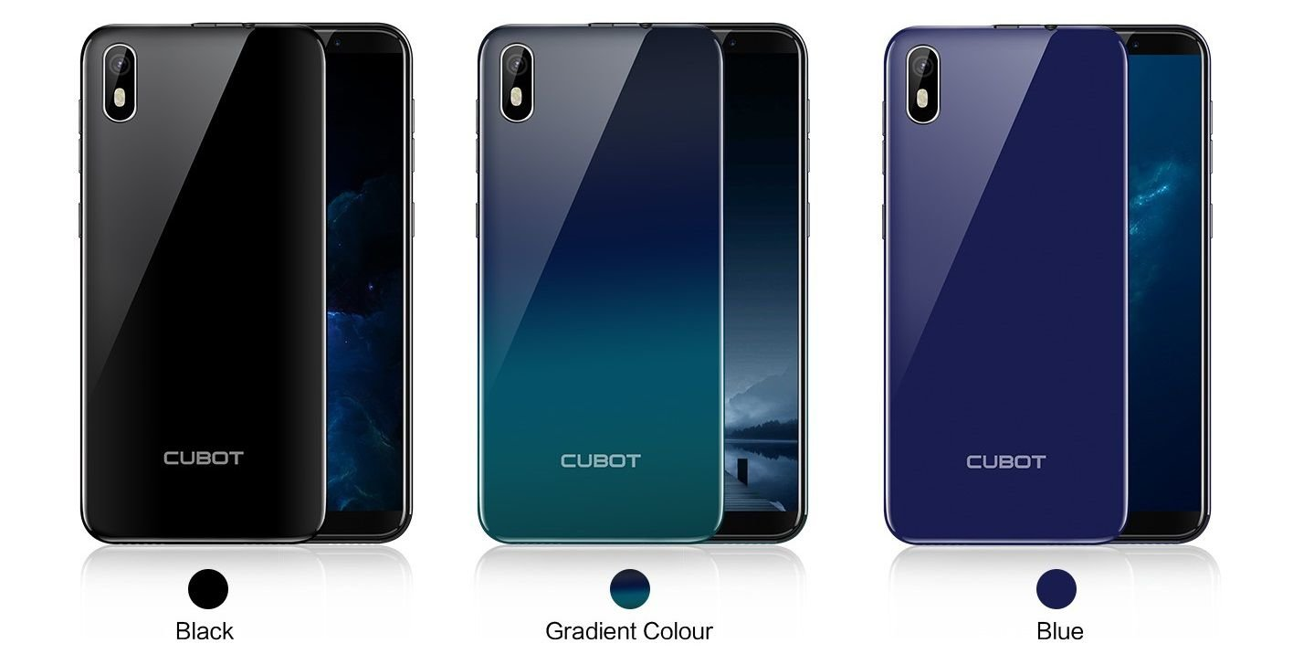 Cubot J5 review and colors