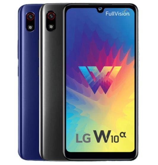 LG W10 Alpha specification features and price