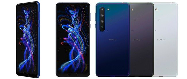 Sharp Aquos R5G review and colors