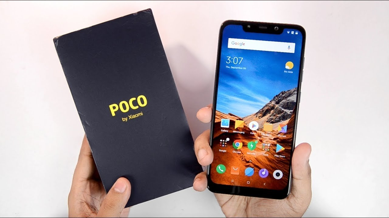 Pocophone f1 android update
