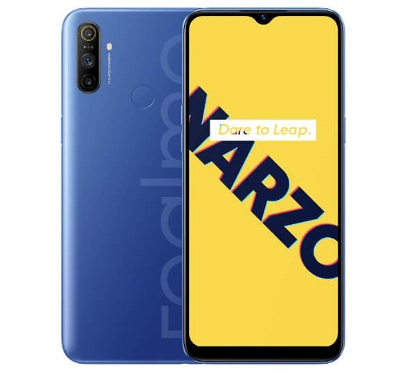Realme Narzo 10a specifications features and price