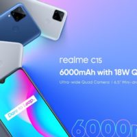 realme c15 launched in Indonesia