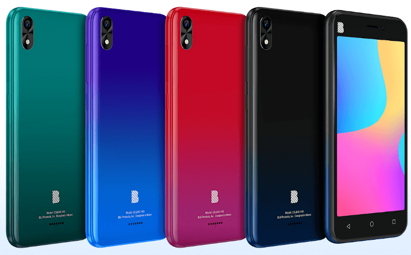 BLU Studio X10 review and colors
