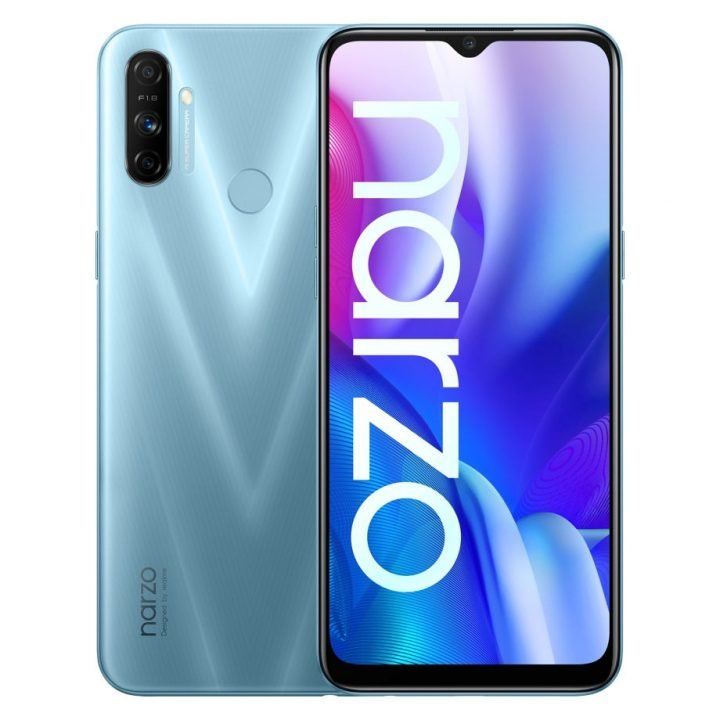 Realme Narzo 20a specifications features and price