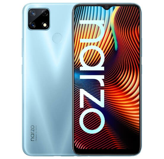 Realme Narzo 20 specifications features and price