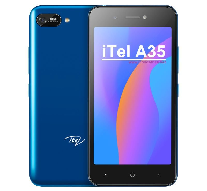 iTel A35 specifications features and price