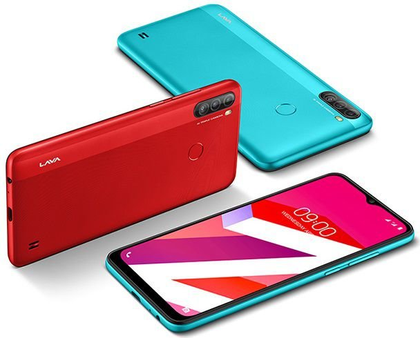 Lava Z4 color and review
