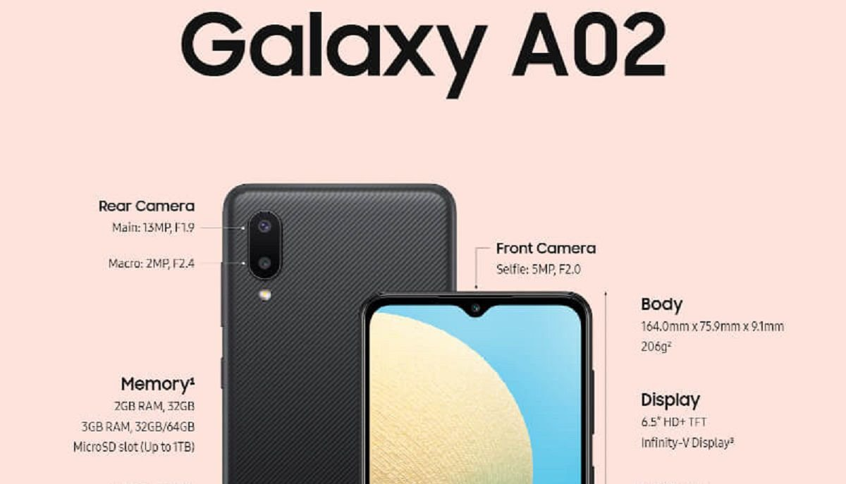 samsung galaxy a02 is here