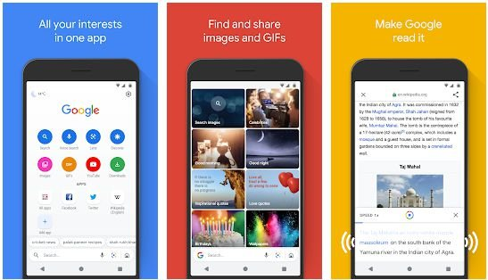 Light weighted Android browsers
