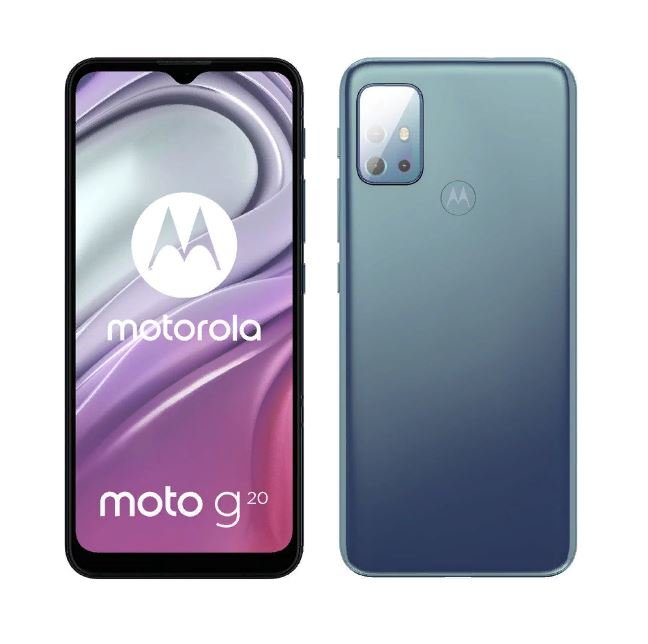Expected Moto G20 smartphone
