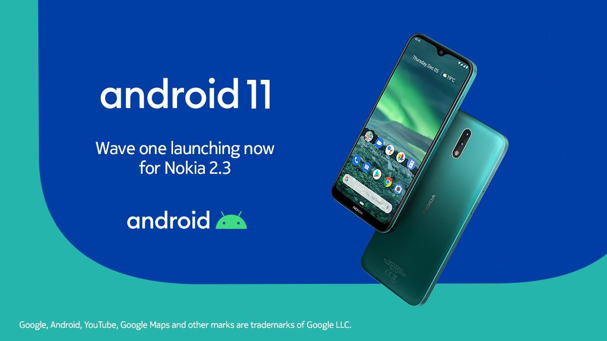 Nokia 2.3 Android 11 update