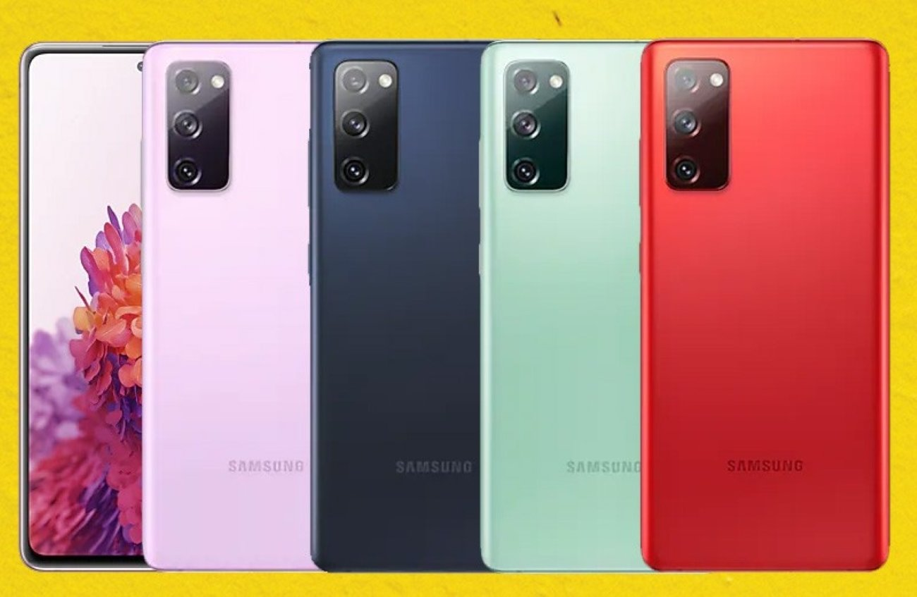 Samsung Galaxy S20 FE 4G with Snapdragon 865 processor appears on their Swedish website