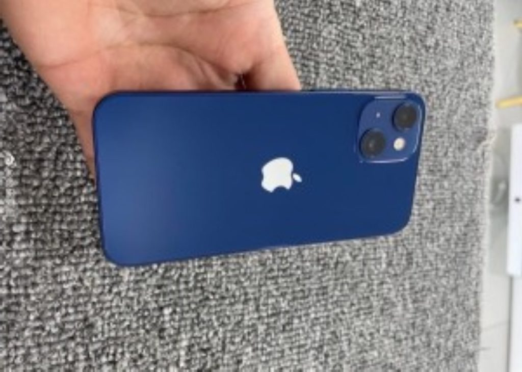 iPhone 13 mini prototype now has the two cameras laid out diagonally