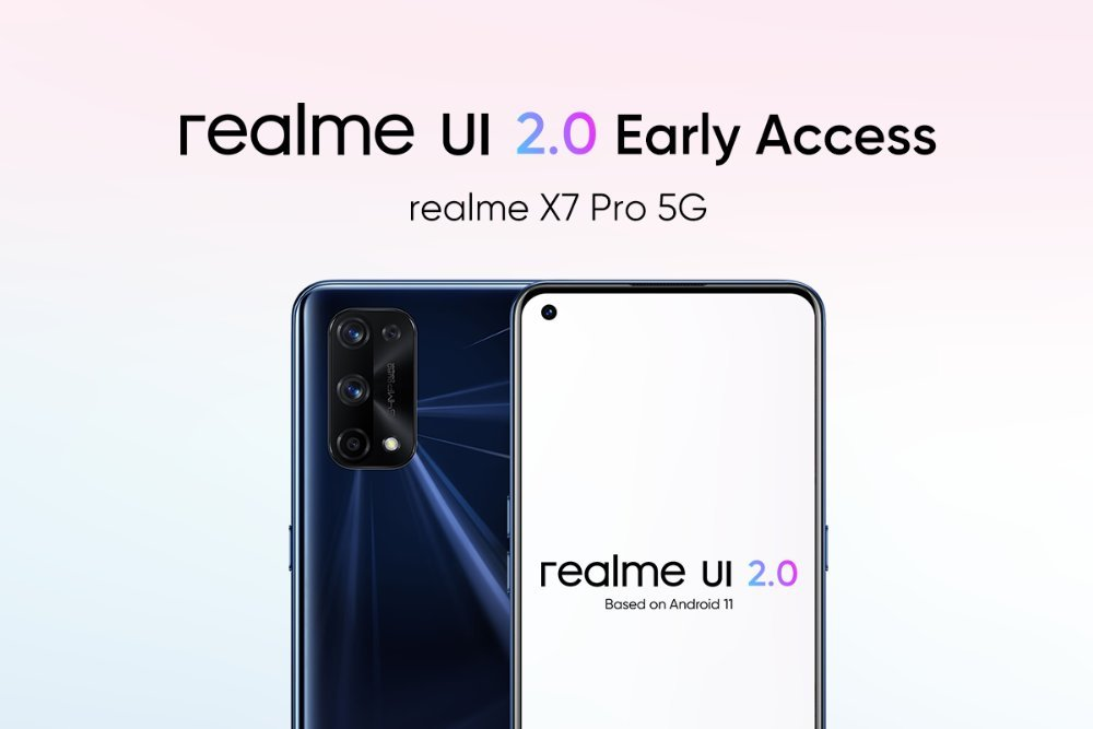Realme X7 gets Realme UI 2.0 Android 11 Early Access update