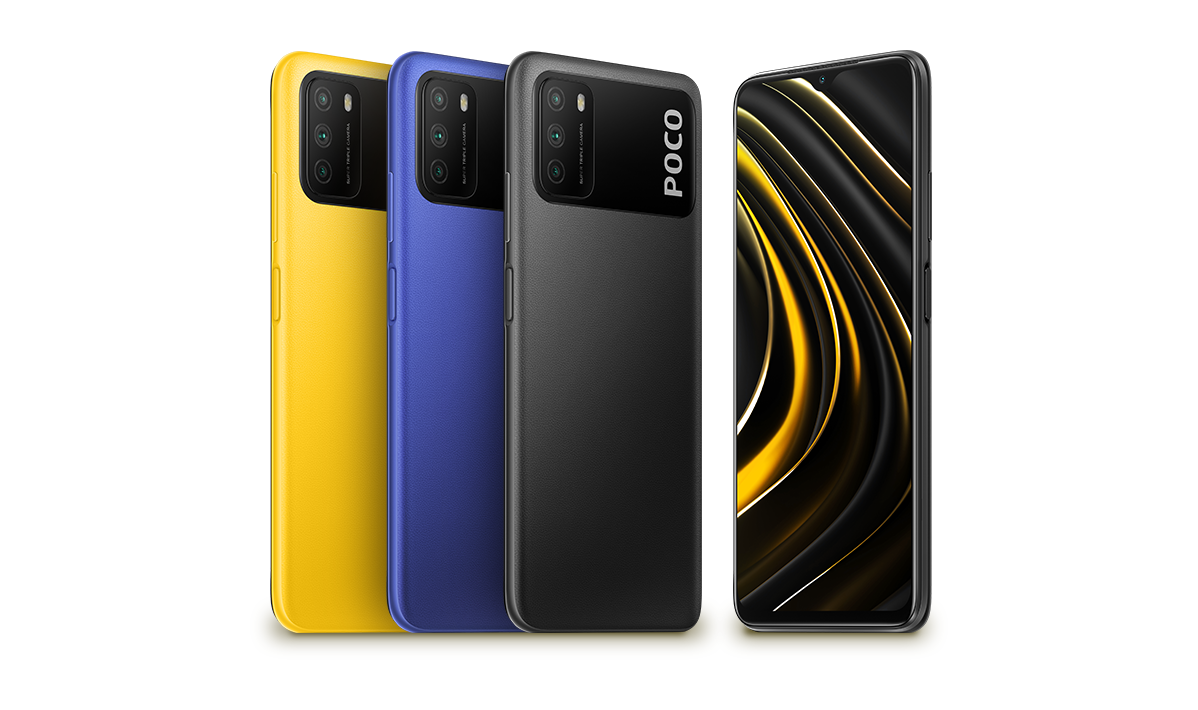 POCO M3 Pro 5G renders show designs of the device ahead of the May 19th launch