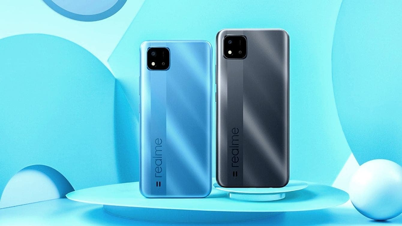 Realme C20A's launch date; design reveals it will come with the Helio G35 SoC