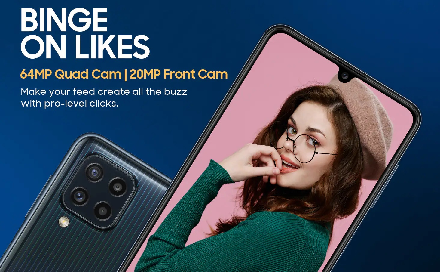 Samsung Galaxy M32 now official with helio G80 CPU
