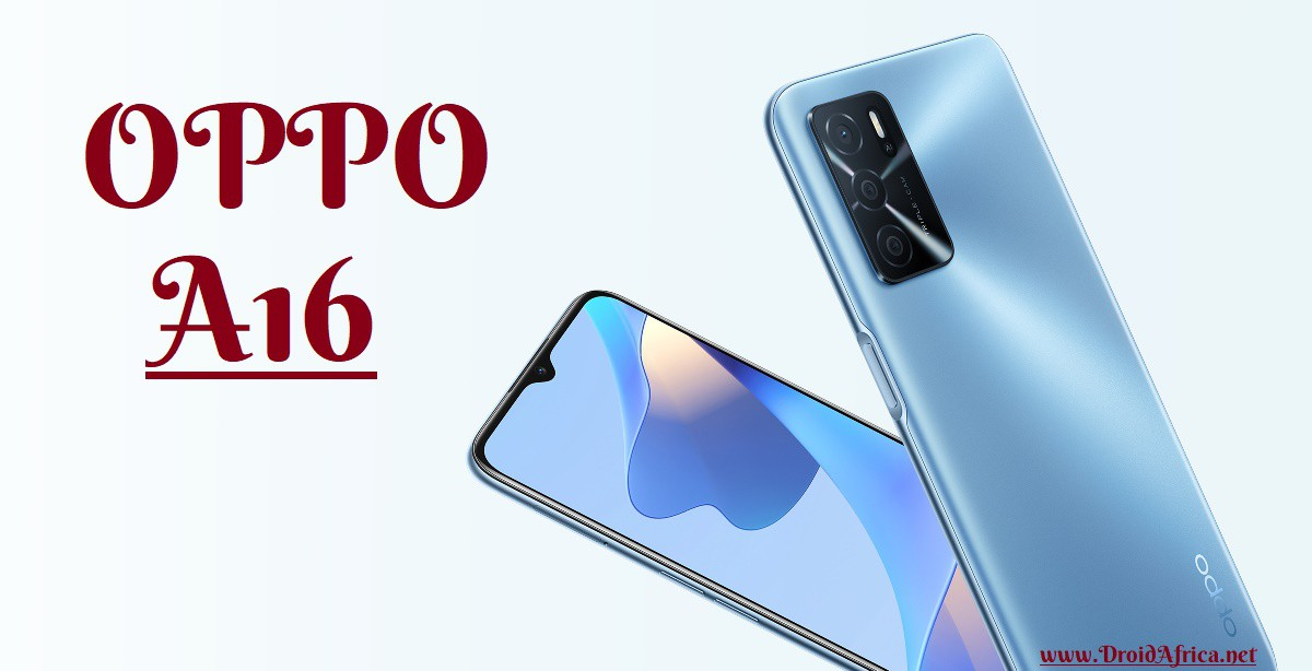 A16 smartphone from OPPO Mobile